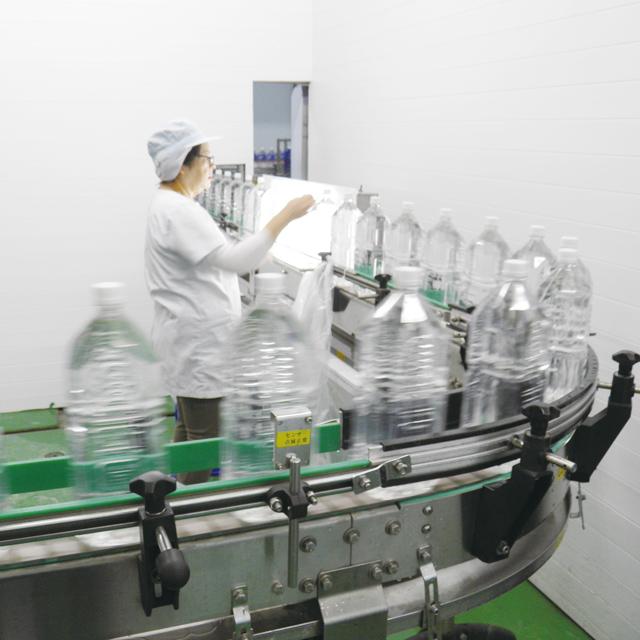 久米島の天然水品質管理